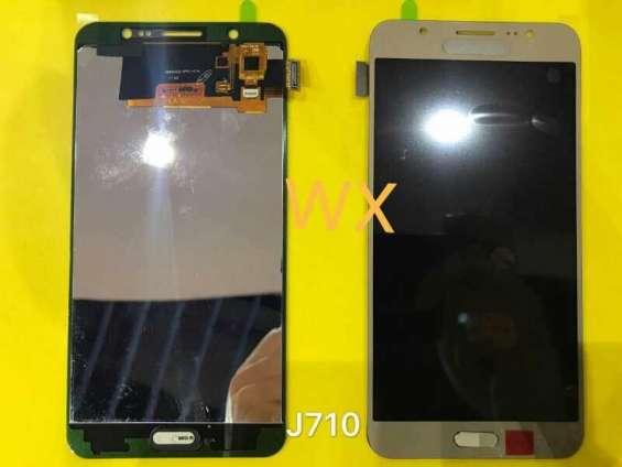 Fotos de Buena calidad j710 pantalla completo para samsung 3