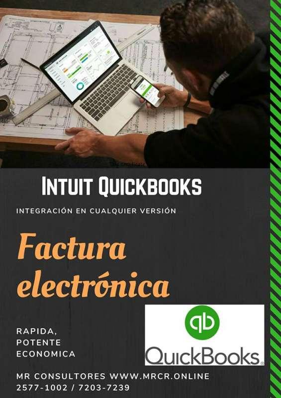 Facturación electrónica para sistemas quickbooks