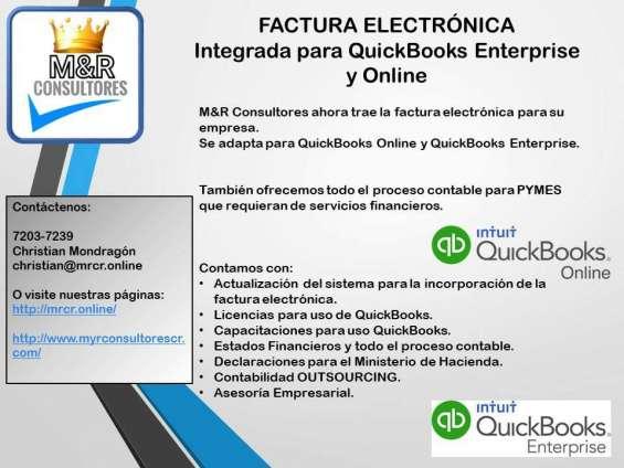 Servicios en sistemas quickbooks