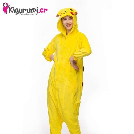 Pijama de pikachu adultos - tienda kigurumi