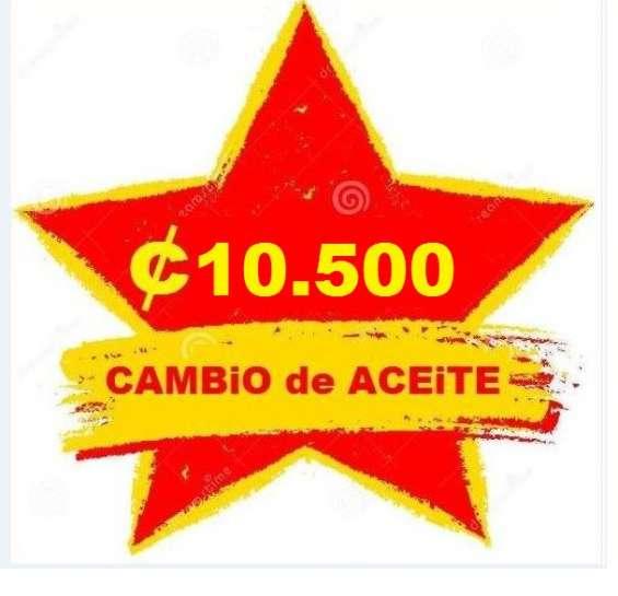 Autovic ofrece cambio de aceite golden desde ¢10.500