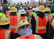 Construction workers and engineers needed