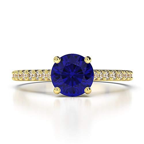 Joyería mundoanillos anillos de compromiso oro amarillo