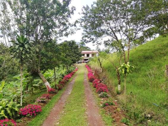 Se vende linda casa con mucho terreno de san ramon alajuela (nhp-445)