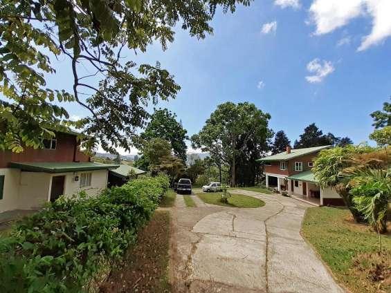 2 hectareas, 2 casas, vista, san ramon de tres rios